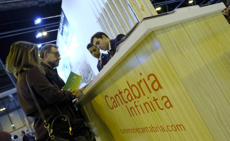 Cantabria se promociona en Fitur