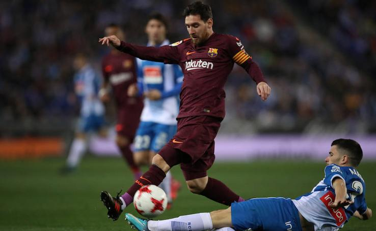 Los mejores momentos del Espanyol-Barcelona, en imágenes