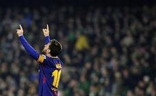 Con Messi no hay rivales