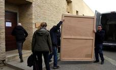 El juez paraliza el traslado de los frescos del MNAC a Sijena