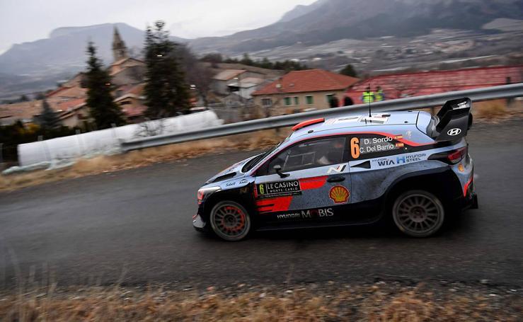 Sordo, tercero en Monte Carlo