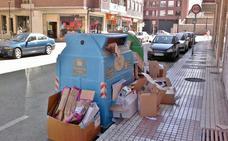El comercio de Los Corrales recicló en 2017 casi 16 toneladas de cartón