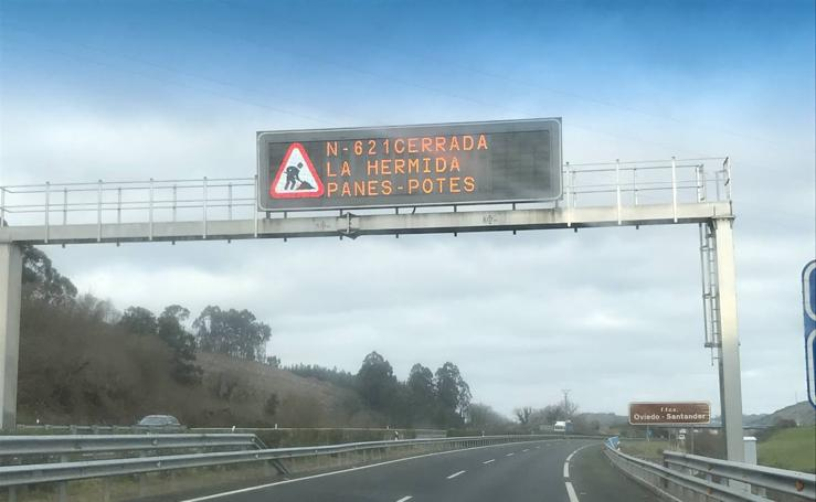 Obras del puente de Lebeña y el cierre total del Desfiladero