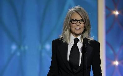 Diane Keaton defiende a Woody Allen: «Es mi amigo y continúo creyendo en él»