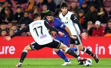El Barça deja vivo al Valencia