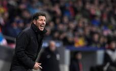 Simeone: «Jugamos contra uno de los mejores equipos de la Liga española»