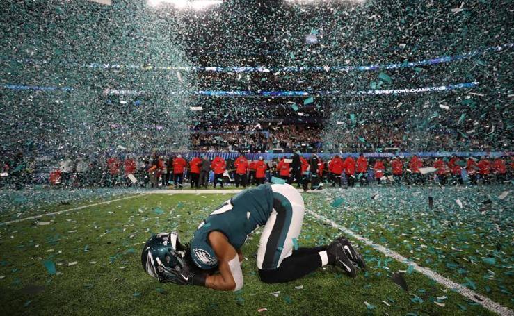 Los Eagles ganan la Super Bowl