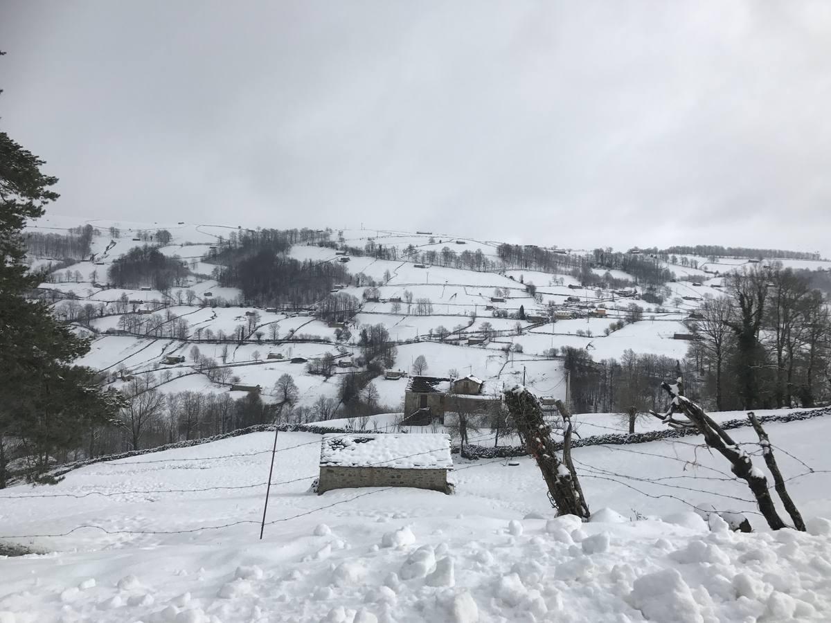 400 alumnos de Cantabria se quedan sin clase por la nieve