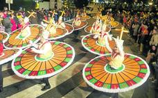 Despliegue de originalidad y color en el carnaval de Camargo