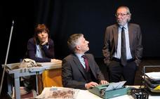El actor y dramaturgo cántabro Alberto Iglesias estrena su obra 'Bel Canto'