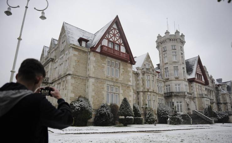 Nieve en Santander