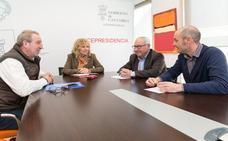 Gobierno regional y Ayuntamiento de Anievas buscan soluciones a la deficiente red de agua en Calga