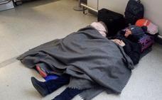 Siguen tirados en Edimburgo los 300 pasajeros afectados por la cancelación del vuelo a Santander