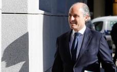 Camps asegura al juez que Zaplana fichó al 'Bigotes' para trabajar con el PP valenciano