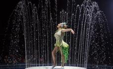 El Circo Alegría acerca a Santander su espectáculo protagonizado por el agua