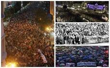 Las otras manifestaciones históricas en Cantabria