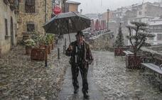 El invierno no da tregua ni en primavera: otro temporal de nieve pone en alerta a Cantabria