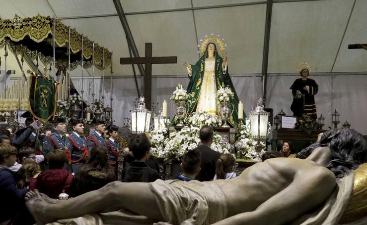 La procesión de la Esperanza se queda en casa