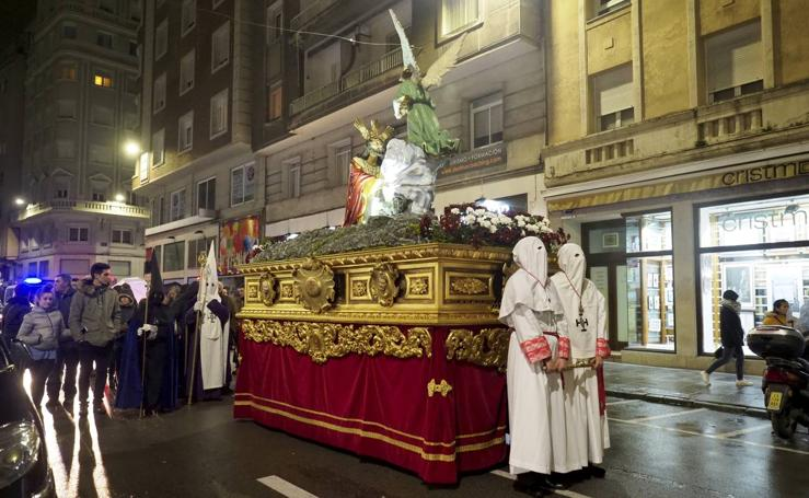 La procesión de la Oración de Jesús en el Huerto de Los Olivos cumplió con su tradición