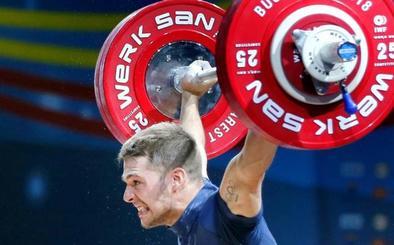 David Sánchez, bronce en el Europeo en arrancada y en el total olímpico