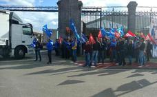 Sonora protesta de los funcionarios de prisiones a las puertas de El Dueso