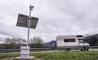Tráfico asegura que el radar de tramo de Limpias ha logrado una «significativa reducción» de la velocidad