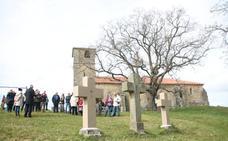 Los vecinos recuperan el vía crucis de Liérganes