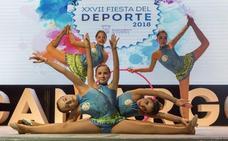 Camargo reconoce la labor de deportistas y clubes en su fiesta del deporte