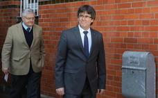 Puigdemont, en libertad: «Es una vergüenza para Europa tener presos políticos»