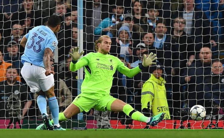 Las mejores imágenes del Manchester City-Liverpool