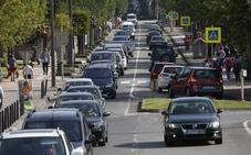 La calle que más intensidad de tráfico registra en Torrelavega es Julio Hauzeur