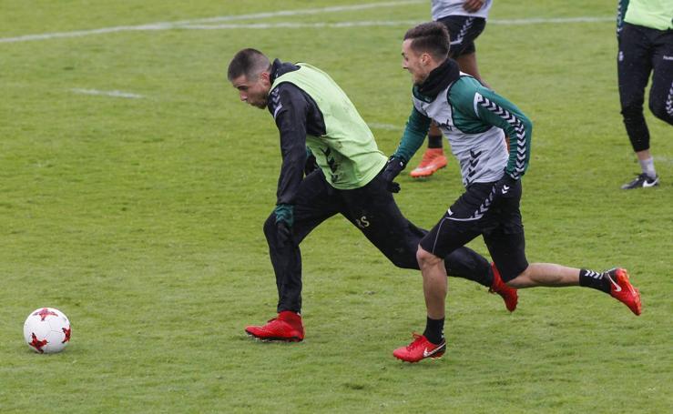 El Racing prepara a conciencia el partido ante Osasuna B