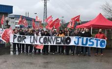 Los 80 trabajadores de la planta de Leche Celta en Meruelo empezarán este lunes una huelga indefinida