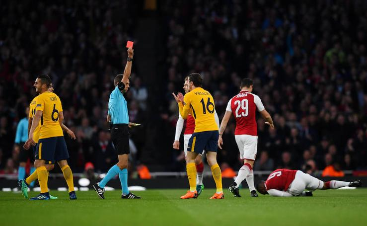 Las mejores imágenes del Arsenal-Atlético
