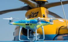 Tráfico pone a prueba drones este puente para vigilar 7,4 millones de viajes