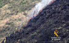 La Guardia Civil investiga a dos vecinos como posibles autores de los incendios de Puentenansa y Valdáliga