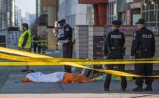 Ocho mujeres entre las diez víctimas mortales del atropello en Toronto