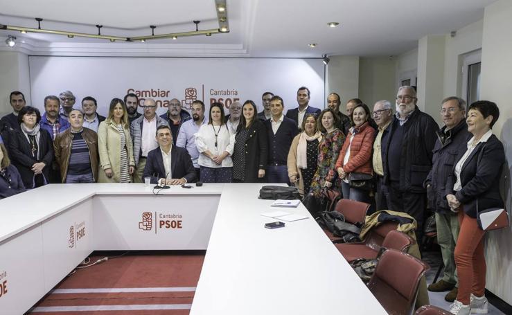 Ricardo Cortés presenta su candidatura a las Primarias del PSOE en Cantabria