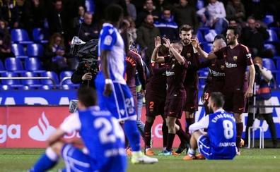Busquets: «Hemos hecho una temporada de notable alto»