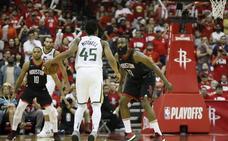 Los Jazz empatan la serie ante los Rockets