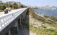 El paseo marítimo de Castro se refuerza