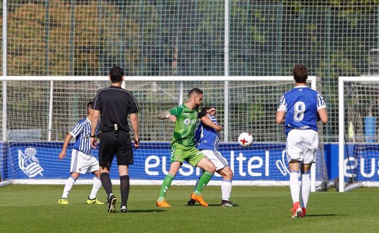 El Racing se enfrenta a la Real Sociedad B en Zubieta