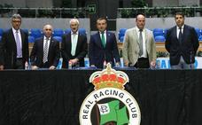 La directiva seguirá al frente del Racing hasta que Pitma designe un sucesor