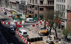 Reabren el tráfico en el centro de Madrid tras la reparación del escape de gas