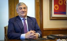 Antonio Tajani: «No se puede destruir un Estado nacional; en ningún país existen las pequeñas patrias»