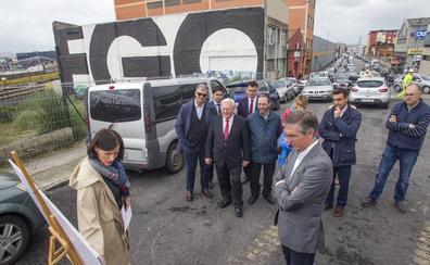 El polígono de Candina tendrá, en tres meses, una salida para vehículos ligeros