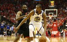 Durant y los Warriors pueden con los Rockets de Harden y toman ventaja