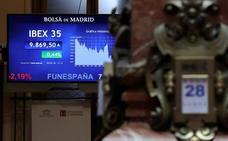 El Ibex-35 baja, pero el principal foco de riesgo político sigue en Italia