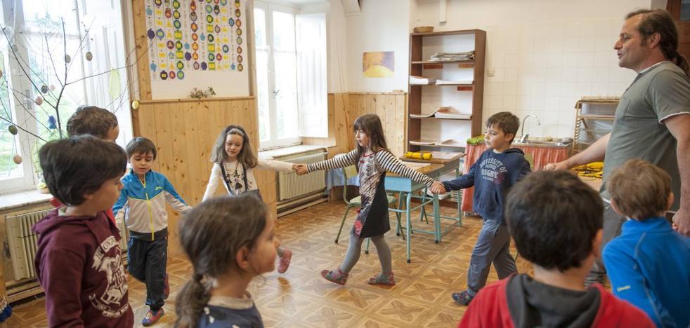 Sin libros de texto ni ordenadores: así es la escuela waldorf cantabria