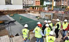Comienzan los trabajos de construcción de la nueva biblioteca municipal de Los Corrales